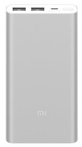 Mi Power Bank 2i 10000mAh Silver (PLM92ZM/VXN4228CN) Аккумулятор внешний портативный Xiaomi Mi Power Bank 2i 10000mAh Silver (PLM92ZM/VXN4228CN) 2xUSB 2.4A