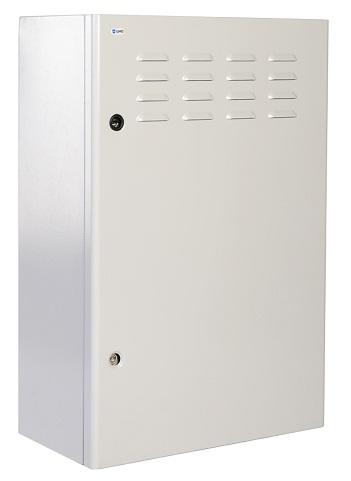 Шкаф настенный 19, 9U ЦМО ШТВ-Н-9.6.3-4ААА уличный всепогодный (600х330), вентилируемая дверь