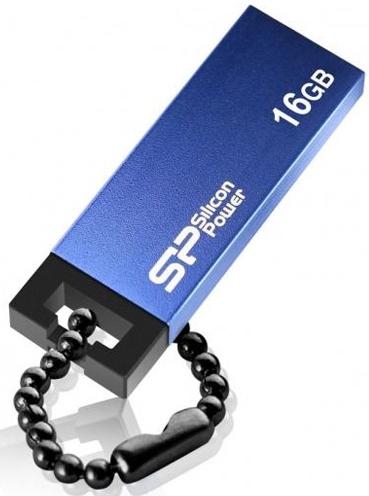Фото - Накопитель USB 2.0 64GB Silicon Power Touch 835 SP064GBUF2835V1B синий накопитель usb 2 0 32gb silicon power touch 810 sp032gbuf2810v1b синий