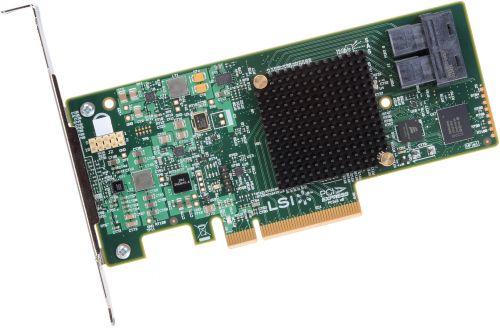 Фото - Контроллер SAS Intel RS3UC080 12Gb/s SAS, 6Gb/s SATA, LSI3008 IOC-based entry-RAID 0,1,1E,10 & JBOD, x8 PCIe 3.0, 8 internal ports, MD2 Low Profile, h sas sata raid контроллер