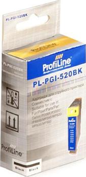 Фото - Картридж струйный ProfiLine PL-PGI-520BK-Bk Картридж PL-PGI-520BK для принтеров Canon Pixma IP3600/IP4600/MP540/MP550/MP620/MP630/MP980 с чипом водн P картридж profiline pl
