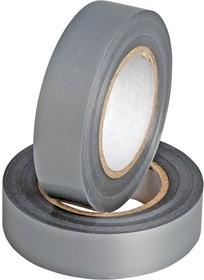 Изолента Rexant 09-2108 15мм х 25м серая ПВХ