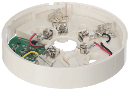 Основание System Sensor B401LI базовое, 2-х проводное со встроенным изолятором КЗ на 24В