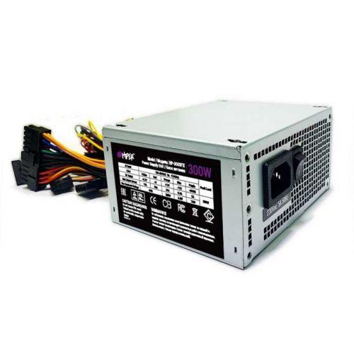 Блок питания SFX HIPER HP-300SFX 300W, Passive PFC, 80mm fan, without power cord, OEM