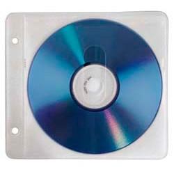 Конверт для CD/DVD HAMA H-84101 00084101 для 2 CD/DVD с перфорацией для портмоне с кольцами 50 шт. белый/прозрачный конверт для cd dvd hama h 33810 00033810 полипропилен 100 шт прозрачный
