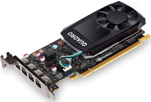 Видеокарта PCI-E PNY Quadro P620 V2 VCQP620V2BLK-1 2GB GDDR5 128bit 14nm 4*mDP (10 cards) Bulk