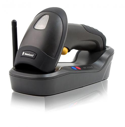 Сканер штрих-кодов Newland HR1550 Wahoo NLS-HR1550-35F ручной, 1D CCD, кабель USB, подставка, черный, (проводной сканер)
