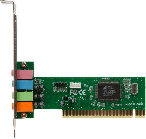 Звуковая карта PCI ASIA 8738SX 4C 14871 8738 (C-Media CMI8738-LX) 4.0 bulk