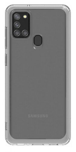 Чехол Samsung Araree A cover GP-FPA217KDATR для Samsung Galaxy A21s прозрачный