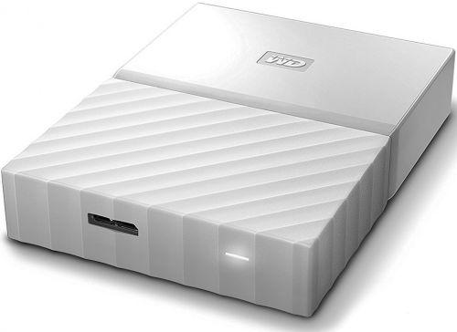 Western Digital Внешний жесткий диск 2.5'' Western Digital WDBUAX0040BWT-EEUE 4TB My Passport USB 3.0 White