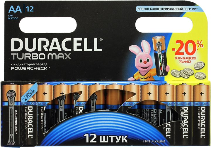 Duracell LR6 Turbo