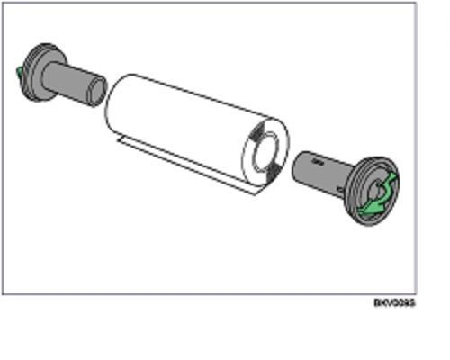 Опция Ricoh 410844 держатели рулона тип А для быстрой замены рулона в податчике для W2401/W3601