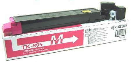 Фото - Тонер-картридж Kyocera TK-895M 1T02K0BNL0 для Kyocera FS-C8020/C8025 magenta 6 000 страниц тонер картридж sharp mx31gtba черный 18 000 страниц