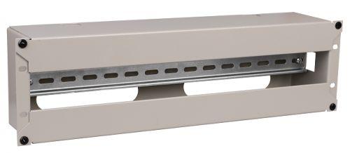 Панель ITK EDP35-3U 19 электрораспределительная, 3U, серая