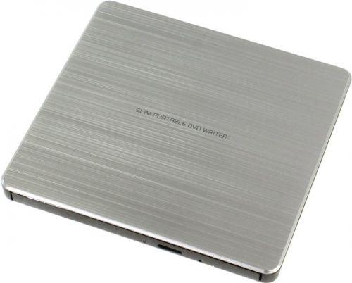 Привод DVD±RW внешний LG GP60NS60 USB 2.0 Silver RTL внешний привод dvd±rw lg gp70ns50 usb 2 0 серебристый retail