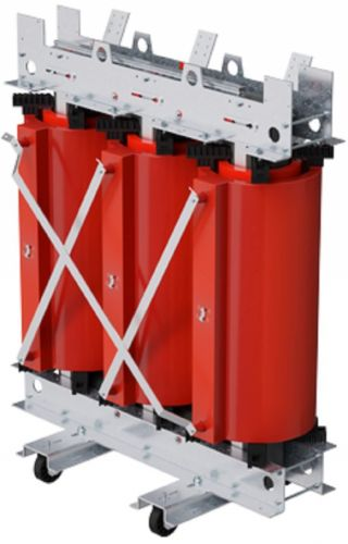 Трансформатор DKC TDA20BDYN5AF000 с литой изоляцией 2000 кВА 6/0,4 кВ D/Yn-11 IP00 вентиляция виброопоры