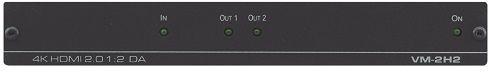 Усилитель-распределитель Kramer VM-2H2 10-804080190 1:2 HDMI UHD, поддержка 4K60 4:4:4, HDMI 2.0