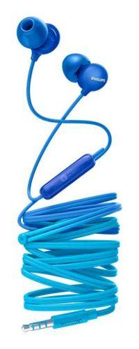 Наушники Philips SHE2405BL/00 проводные/внутриканальные с микрофоном/двустороннее /miniJack 3.5 мм