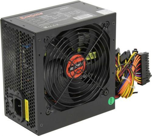 Блок питания ATX Exegate XP650 EX259603RUS 650W, black, 12cm fan, 24p+4p, 6/8p PCI-E, 3*SATA, 2*IDE, FDD блок питания atx exegate uns400 es261567rus 400w 12cm fan 24p 4p 3 sata 2 ide fdd