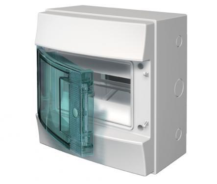 Бокс ABB 1SL1101A00 Mistral65 навесной 8М непрозрачная дверь (без клемм)
