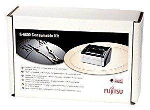 Комплект запасных роликов Fujitsu CON-3575-600K / CON-3575-001A Consumable Kit For fi-6400, fi-6800. Estimated Life: Up to 600K scans