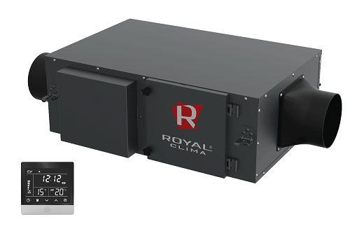 Приточная установка Royal Clima RCV-500 + EH-1700 VENTO