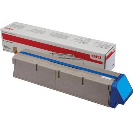 Тонер-картридж OKI 45536555 голубой для OKI Pro9431/Pro9541/Pro9542 на 42,000 стр. A4