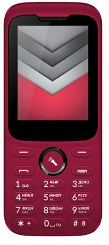 Мобильный телефон Vertex D552 dark red мобильный телефон inoi 239 dark red