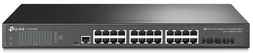 Коммутатор управляемый TP-LINK TL-SG3428X 24x10/100/1000 Мбит/с RJ45, 4xSFP+, L2+