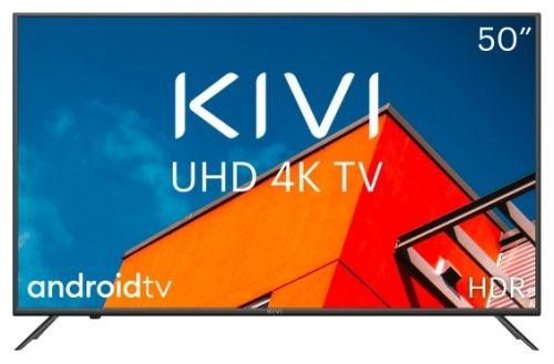 Телевизор KIVI 50U710KB серый/4K UltraHD/3840x2160/DVB-T/DVB-T2/DVB-C/DVB-S/DLNA/4*HDMI/3*USB/WiFi/BT/Android недорого