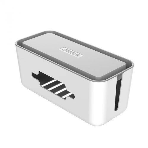 Короб Orico CMB-18 пластиковый для кабелей и зарядных устройств, белый