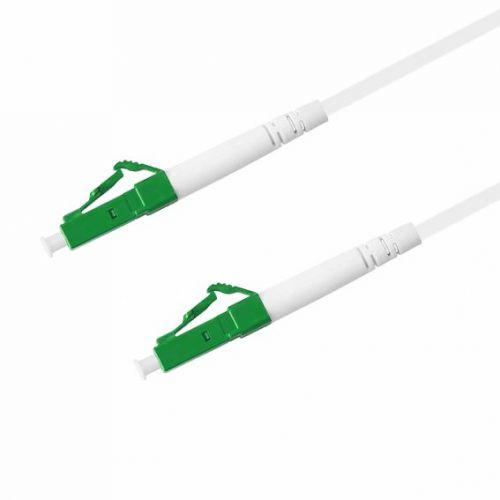 Кабель патч-корд волоконно-оптический TELCORD ШОС-3.0-LC/A-LC/A-SM(A1)-150м-LSZH-WH  - купить со скидкой