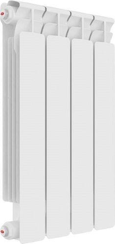 Радиатор отопления алюминиевый Rifar Alum Ventil 350 х4 RAL35004НПЛ нижнее подключение, левое