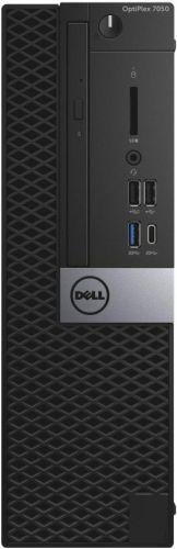 Dell Компьютер Dell Optiplex 7050 SFF i5 6500 (3.2)/8Gb/SSD256Gb/HDG530/DVDRW/Windows 10 Professional 64/GbitEth/клавиатура/мышь/черный/серебристый (7050-2585)