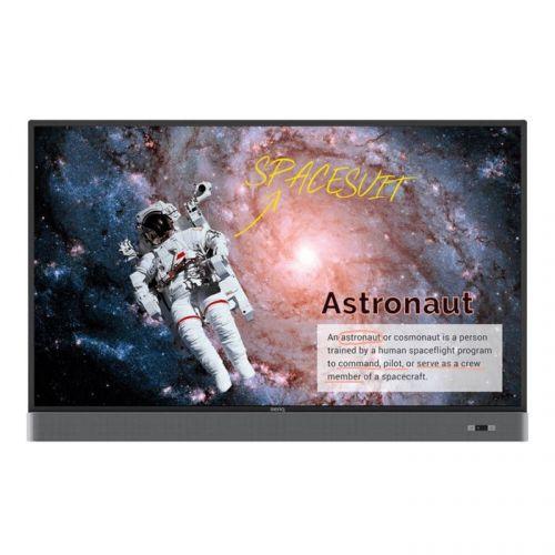 Панель LCD 65' BenQ RM6501K 9H.F4PTK.DE3 4K UHD AG80, Touch 20p, 450 nits, 18/7, Landscape, SoundBar, PenTray, LanControl, Android, Apps, EZ-write 4.1