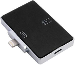 Карт-ридер внешний Аладдин Р. Д. для iPhone / iPad / iPod с разъёмом Lightning (iR301-UL)
