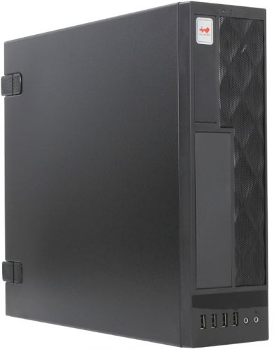 Корпус mATX In Win CE052S 6119246 черный desktop/microtowe r  300W (USB 3. 0 x 2, USB 2. 0 x 2, Audio),