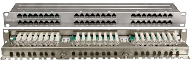 Hyperline PPHD-19-48-8P8C-C6-SH-110D