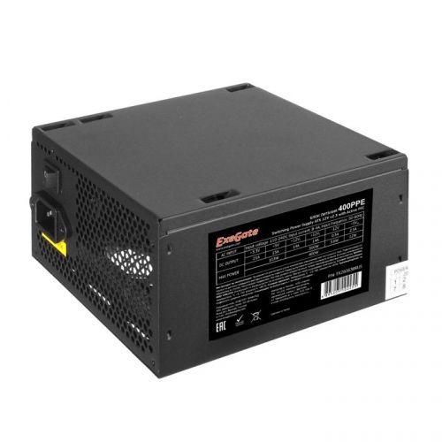 Блок питания ATX Exegate 400PPE 400W, Active PFC, 120mm fan недорого