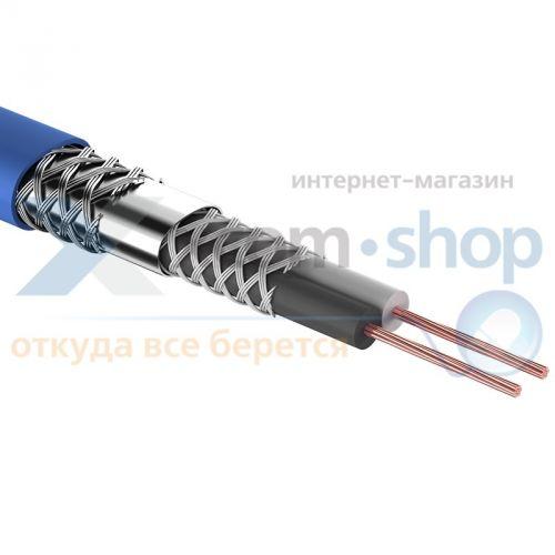 Кабель Rexant КММ 2 х 0,25мм², 1 экран, d 6,8мм., синий, 100 м 01-6028