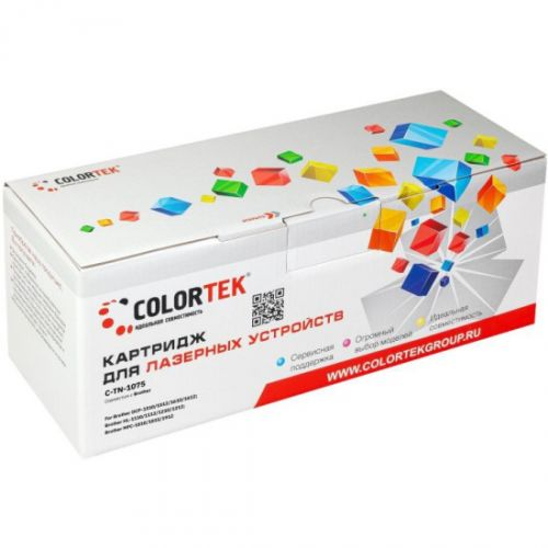 Картридж Colortek CT-TN1075 лазерный для принтеров Brother