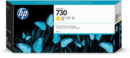 Картридж HP 730 P2V70A для DesignJet T1700, 300 мл, желтый