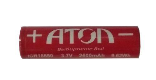 Аккумулятор АТОЛ АТОЛ 44359 18650 2600mAh 3. 7V BPI (для АТОЛ 15Ф, 91Ф, 92Ф)