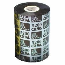 Лента красящая Zebra 0320 Воск Смола 3200 Premium Wax Resin Black 102 мм/450 м недорого