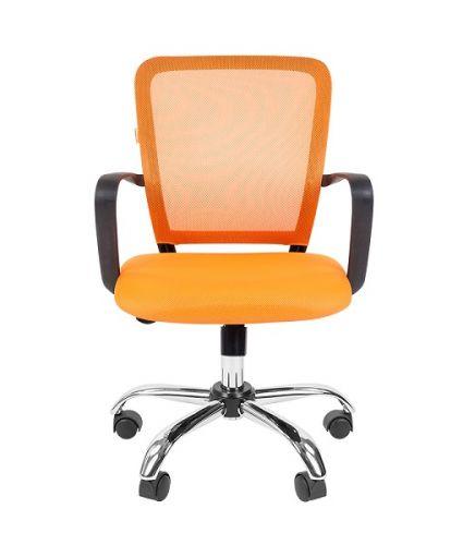 Кресло офисное Chairman 698 Chairman 7062444 TW-66 оранжевый хром