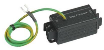 Грозозащита SC&T SP001P цепи питания одноканальное. Макс. напряжение перегрузки 4КВ. Макс. напряжение цепи питания AC40V/DC56V. Вх-Клм.х2, Вых-Клм.х2.