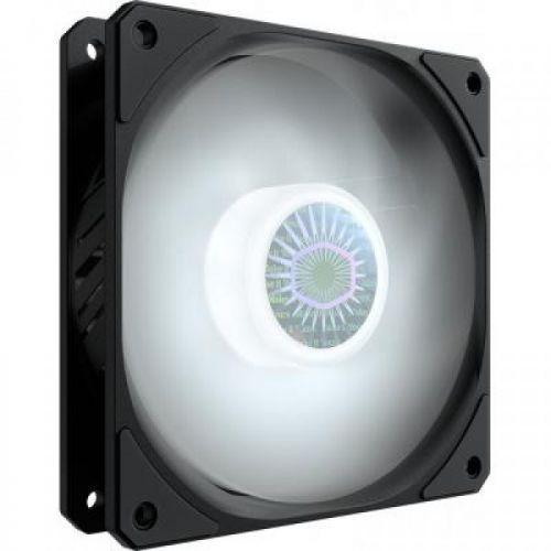 Вентилятор для корпуса Cooler Master SickleFlow 120 White MFX-B2DN-18NPW-R1 120x120x25mm, 650-1800rpm, 62 CFM, 8-27 dBA, 4-Pin PWM