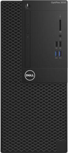 Dell Компьютер Dell OptiPlex 3050 MT i5 7500 (3.2Ghz)/8Gb/1Tb 7.2k/HDG630/DVDRW/ Linux/Eth/240W/клавиатура/мышь/черный (3050-0375)