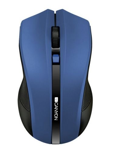 Фото - Мышь Wireless Canyon MW-5 CNE-CMSW05BL Optical 4 buttons, DPI 800/1200/1600, blue canyon2 4ghz wireless optical mouse with 4 buttons dpi 800 1200 1600 1 additional cover penguin