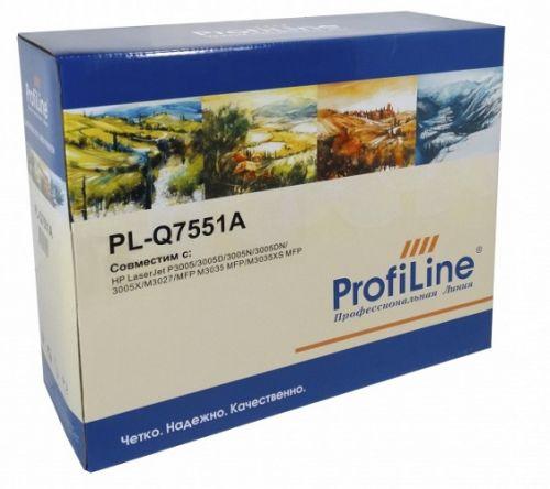 Картридж ProfiLine PL-Q7551A для принтеров HP LJ P3005/3005D/3005N/3005DN/3005X/M3027/MFP M3035 MFP/M3035XS MFP 6500 копий ProfiLine